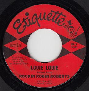 Louie Louie by Rockin' Robin Roberts